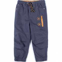 Spodnie. Szare chinosy chłopięce BOO, z bawełny. Za 39,90 zł.