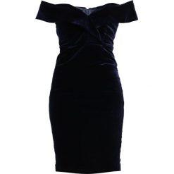 Sukienki hiszpanki: Bardot BELLA  Sukienka koktajlowa royal blue