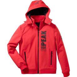 Kurtka softshell Regular Fit bonprix czerwony. Czerwone kurtki softshell męskie marki bonprix, m, z materiału. Za 179,99 zł.