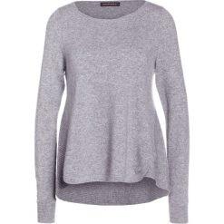 Swetry klasyczne damskie: Repeat Sweter light grey