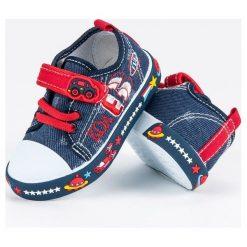 Buty dziecięce: Dziecięce trampki space AMERICAN CLUB niebieskie
