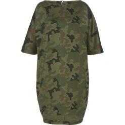 Sukienki: Sukienka bonprix oliwkowy wzorzysty