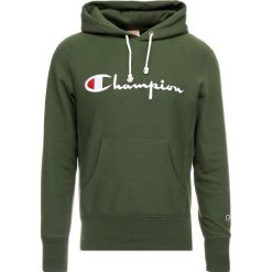 Champion Reverse Weave HOODED Bluza z kapturem baf. Zielone bluzy męskie rozpinane Champion Reverse Weave, m, z bawełny, z kapturem. Za 399,00 zł.