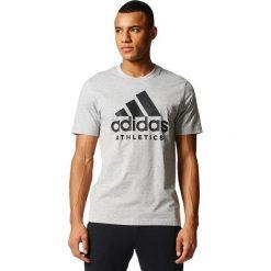 Adidas Koszulka SID Branded Tee szara r. M (BK3711). Szare koszulki sportowe męskie marki Adidas, m. Za 95,00 zł.