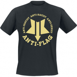 Anti-Flag New Star T-Shirt czarny. Czarne t-shirty męskie marki Caliban, s. Za 74,90 zł.