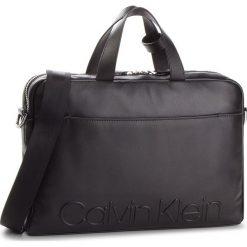 Torba na laptopa CALVIN KLEIN - Statement Zip Slm Laptop Bag K50K503891 001. Czarne torby na laptopa marki Calvin Klein, ze skóry. Za 1299,00 zł.