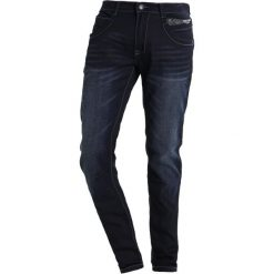 Cars Jeans BLACK STAR Jeansy Slim Fit dark blue. Niebieskie rurki męskie Cars Jeans. Za 269,00 zł.