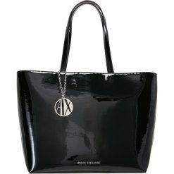 Armani Exchange Torebka nero black. Czarne torebki klasyczne damskie marki Armani Exchange, l, z materiału, z kapturem. Za 589,00 zł.