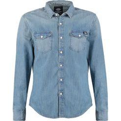 Koszule męskie na spinki: Dickies PENNGROVE Koszula bleach stonewash