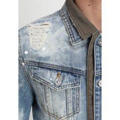 Tigha KYRIN TENT Kurtka jeansowa sky blue. Niebieskie kurtki męskie jeansowe marki Reserved, l. Za 969,00 zł.