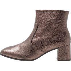 Gabor Ankle boot metal. Brązowe botki damskie skórzane marki Gabor. Za 509,00 zł.