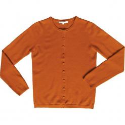 Kardigan kaszmmirowy w kolorze musztardowym. Brązowe kardigany damskie marki Ateliers de la Maille, z kaszmiru. W wyprzedaży za 318,95 zł.