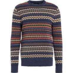 Swetry klasyczne męskie: Barbour Sweter navy