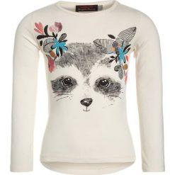 Catimini GRAPHIC FLORAL STAR Bluzka z długim rękawem craie. Białe bluzki dziewczęce bawełniane marki Catimini, z długim rękawem. W wyprzedaży za 135,85 zł.