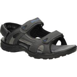 Sandały Casu 9SD9037. Czarne sandały męskie Casu. Za 79,99 zł.