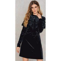 Sukienki hiszpanki: Gestuz Sukienka Locklyn – Black