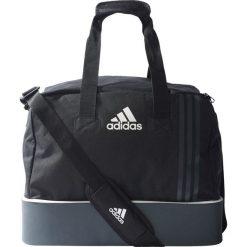 Torby podróżne: Adidas Tiro S B46124 Torba czarno-szara odpinane dno (75344)