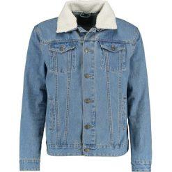 Kurtki męskie bomber: Burton Menswear London BORG COLLAR Kurtka jeansowa blu
