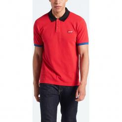 """Koszulka polo """"Modern"""" w kolorze czerwonym. Niebieskie koszulki polo marki GALVANNI, l, z okrągłym kołnierzem. W wyprzedaży za 86,95 zł."""