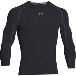 Koszulki sportowe męskie: Under Armour Koszulka męska HeatGear Compression Longsleeve czarna r. L (1257471-001)