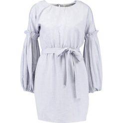 Sukienki hiszpanki: Lost Ink Petite TIE WAIST Sukienka letnia light grey