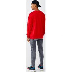 Szare jeansy skinny fit. Czarne jeansy męskie relaxed fit marki Pull&Bear, m. Za 139,00 zł.