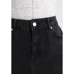 Minispódniczki: Topshop Petite SEAM  Spódnica trapezowa black