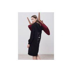 Bluza MOON CHILD. Czarne bluzy rozpinane damskie Dust, z nadrukiem, z bawełny. Za 180,00 zł.