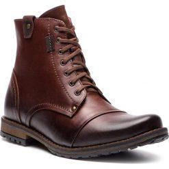 Kozaki SERGIO BARDI - Guspini FW127374118GR 105. Brązowe buty zimowe męskie Sergio Bardi, ze skóry. W wyprzedaży za 229,00 zł.