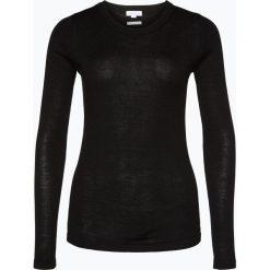 Brookshire - Damski sweter z wełny merino, czarny. Czarne swetry klasyczne damskie marki brookshire, m, w paski, z dżerseju. Za 179,95 zł.