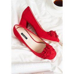 Buty ślubne damskie: Czerwone Czółenka Sevay