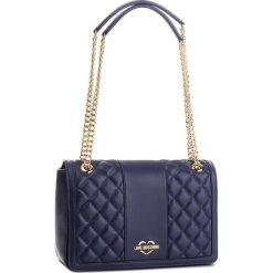 Torebka LOVE MOSCHINO - JC4000PP16LA0750  Blu. Niebieskie torebki klasyczne damskie marki Love Moschino, ze skóry ekologicznej, duże. Za 919,00 zł.