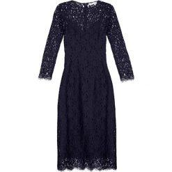 Długie sukienki: IVY & OAK Długa sukienka navy blue