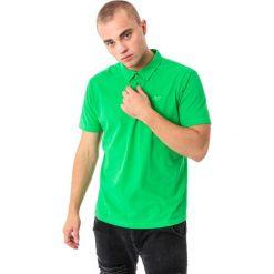 Koszulki polo: 4f Koszulka męska polo H4L18-TSM015 zielona r. XXL