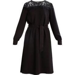 Sukienki hiszpanki: YAS ADDY MIDI  Sukienka letnia black