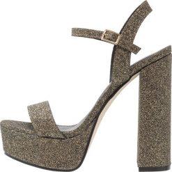 Sandały damskie: New Look STRADA Sandały na obcasie gold