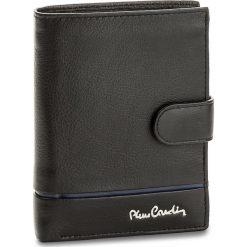 Duży Portfel Męski PIERRE CARDIN - TILAK15 331A Nero/Blue. Czarne portfele męskie marki Pierre Cardin, ze skóry. Za 125,00 zł.