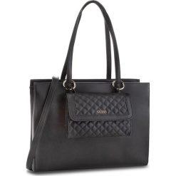 Torebka GUESS - HWVG70 99230  BLA. Czarne torebki klasyczne damskie Guess, z aplikacjami, ze skóry ekologicznej. W wyprzedaży za 599,00 zł.