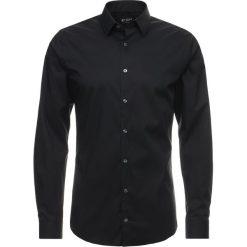 Tiger of Sweden BRODIE EXTRA SLIM FIT Koszula biznesowa black. Brązowe koszule męskie slim marki Tiger of Sweden, m, z wełny. Za 379,00 zł.