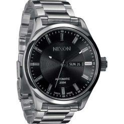 Zegarki męskie: Zegarek męski Black Nixon Automatic II A2091000