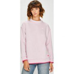 Puma - Bluza. Szare bluzy damskie Puma, l, z bawełny, bez kaptura. Za 299,90 zł.