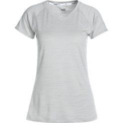 Puma EPIC TEE Tshirt z nadrukiem light gray heather. Białe topy sportowe damskie marki Puma, xl, z nadrukiem, z elastanu. W wyprzedaży za 135,20 zł.