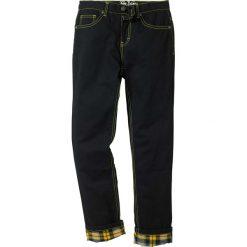 Odzież chłopięca: Spodnie z ciepłą flanelową podszewką bonprix czarny