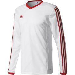 Adidas Koszulka piłkarska męska Tabela 14 Long Sleeve Jersey biało-czerwona r. XL (F50429). Białe t-shirty męskie marki Adidas, m. Za 68,19 zł.