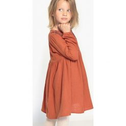 Sukienki dziewczęce: Haftowana sukienka w stylu folkowym, 3-12 lat