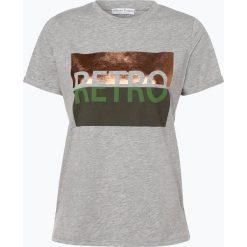 Marie Lund - T-shirt damski, szary. Szare t-shirty damskie Marie Lund, l, z nadrukiem. Za 59,95 zł.