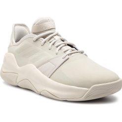 Buty adidas - Streetflow F36620 Rawwht/Rawwht/Rawwht. Brązowe buty sportowe męskie Adidas, z materiału. Za 329,00 zł.