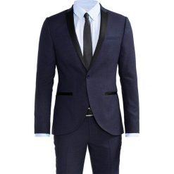 Viggo SAUCE TUX SUIT SLIM FIT Garnitur navy. Niebieskie garnitury Viggo, z materiału. Za 799,00 zł.