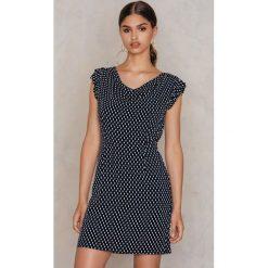 Sukienki hiszpanki: Moves Sukienka Volant – Blue