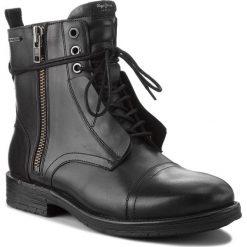 Kozaki PEPE JEANS - Tom Cut Boot PMS50162 Black 999. Czarne glany męskie marki Pepe Jeans, z jeansu. W wyprzedaży za 449,00 zł.